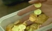 В Иерусалиме обнаружен крупный монетный клад.