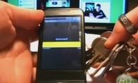 Мобильный телефон с металлоискателем.