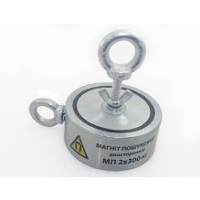300х2 кг двухсторонний МАГНИТОН поисковый магнит
